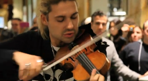 David Garrett Does Michael Jackson's 'Smooth Criminal' – VIDEO