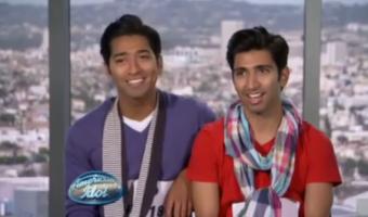 Mark and Aaron Gutierrez American Idol 2011