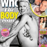 """Pink Goes Naked For """"Who"""" Magazine Cover, Discusses Her Body And Getting In Shape"""