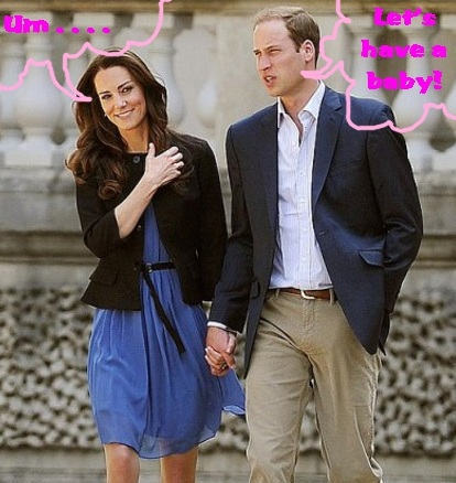 Prince William and Kate Middleton Are Ready For A Baby