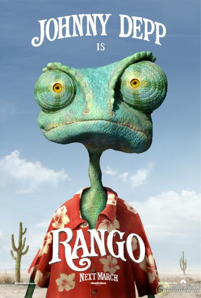 2011 Super Bowl Commercial for 'Rango' VIDEO