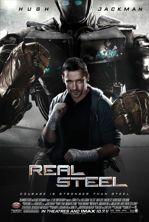 Hugh Jackman: NEW &#8216;Real Steel&#8217; Poster