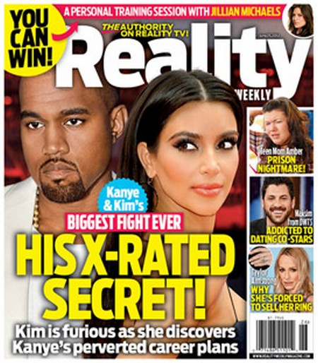 Kanye West &amp; Kim Kardashian Battling Over His X-Rated Secret
