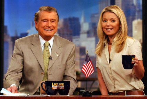 Regis Philbin Says Goodbye To 'Live!'