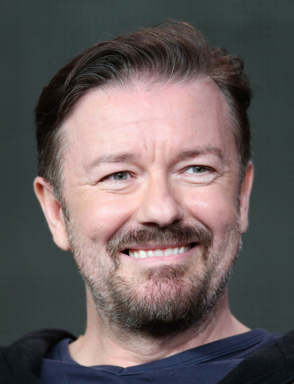 Ricky-Gervais-Justin-Bieber-anne-frank-comments