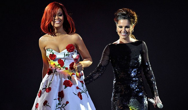 Rihanna and Cheryl Cole