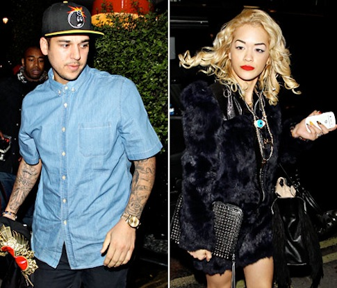 Rob Kardashian Turns To Socks After Split From Rita Ora
