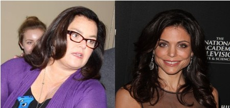 Rosie O'Donnell Furious Over Bethenny Frankel's Copycat Show