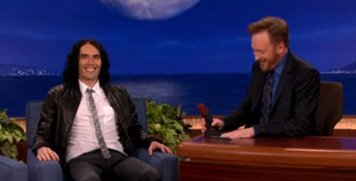 Russell Brand on Conan
