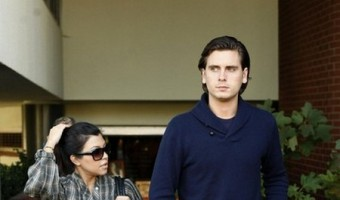 While Kourney Kardashian Has A Baby Shower, Scott Disick Gets Drunk & Sick