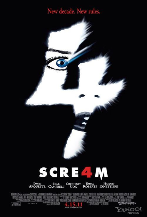 Freaky NEW 'Scream 4′ Poster Released