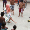 Lady Gaga Plays Football in Rio