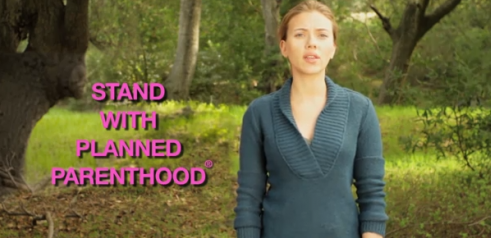 Scarlett Johansson Does PSA For Planned Parenthood – Video