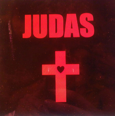 Lady Gaga - Judas Cover Art