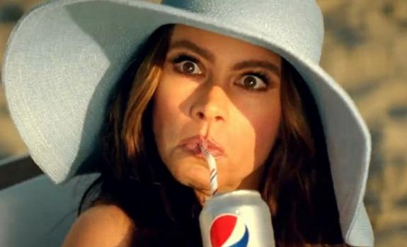 Sofia Vergara Diet Pepsi Ad