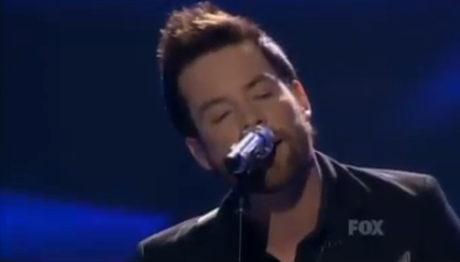 David Cook 'The LAst Goodbye' on American Idol