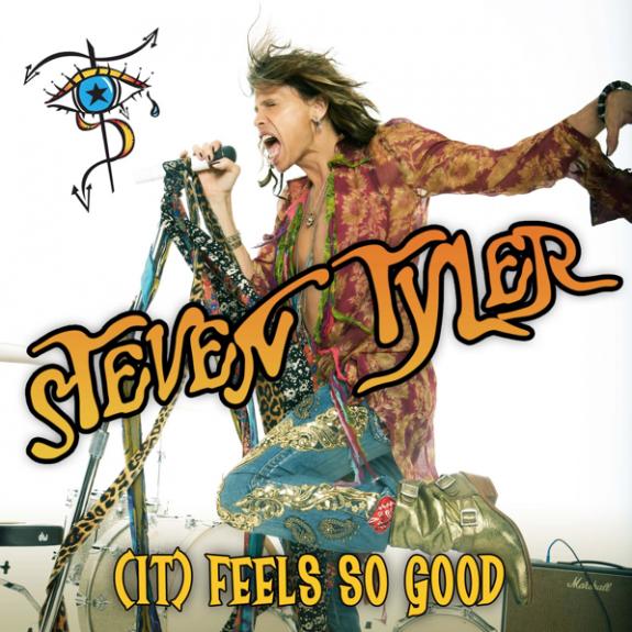 Steven Tyler - It Feels So Good - Cover Art