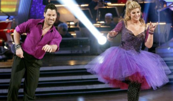 DWTS - Maks and Kirstie