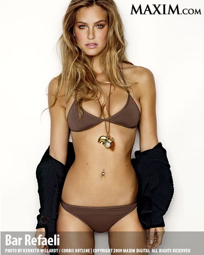 Bar Refaeli - 2011 Maxim Hot 100 List