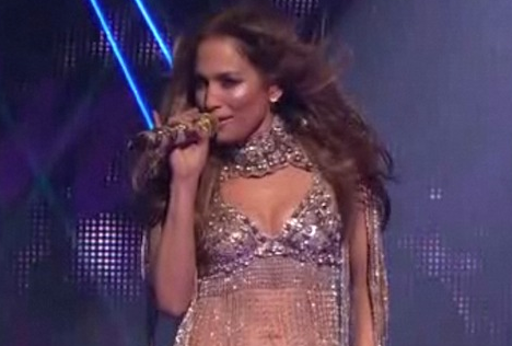 Jennifer Lopez - On The Floor - Ft. Pitbull on American Idol Results Show