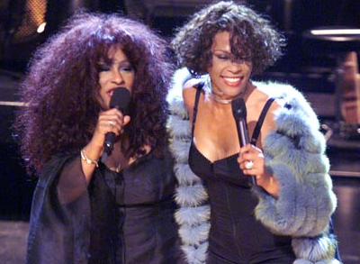 WATCH: Whitney Houston and Chaka Khan Duet At Prince Concert &#8211; VIDEO