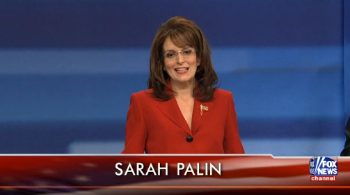 Tina Fey as Sarah Palin - SNL May 7 2011