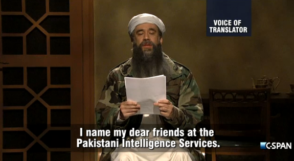 Osama bin Laden - Last Will on SNL