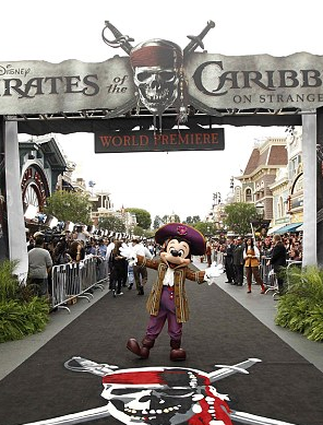 Pirates 4 - Disneyland Premeire