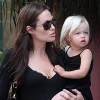 Angelina Jolie and Shiloh Pitt