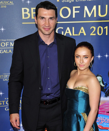 Hayden Panettiere and Wladimir Klitschko Dunzo Too