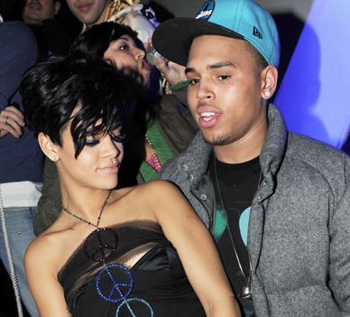 Rihanna and Chris Brown Are Twitter Friends