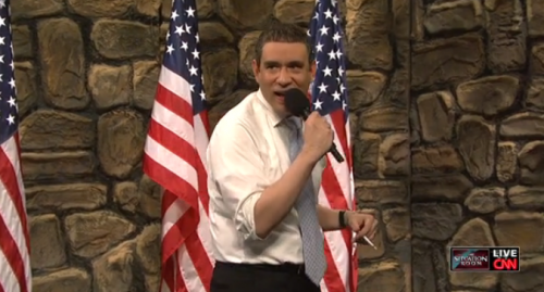 SNL: President Obama Does Drunk Stand Up Comedy in The Situation Room – VIDEO