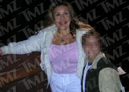 Arnold Schwarzenegger Mistress Mildred Patty Baena and Son
