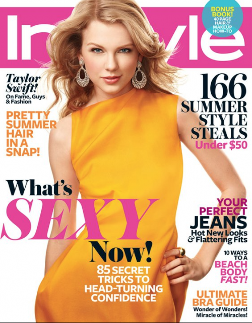 Taylor Swift Dazzles on Cover of InStyle &#8211; June 2011