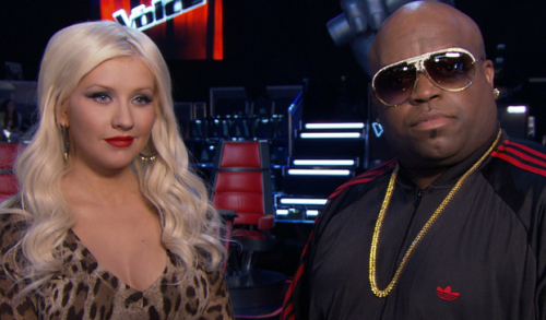 LISTEN: Christina Aguilera and Cee Lo Green Are 'Nasty'