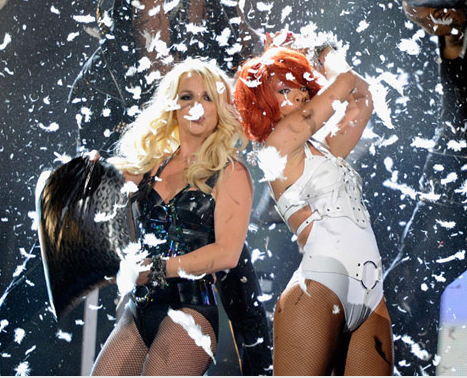 WATCH: Britney Spears and Rihanna ROCK 'S&M' at the 2011 Billboard Music Awards – VIDEO