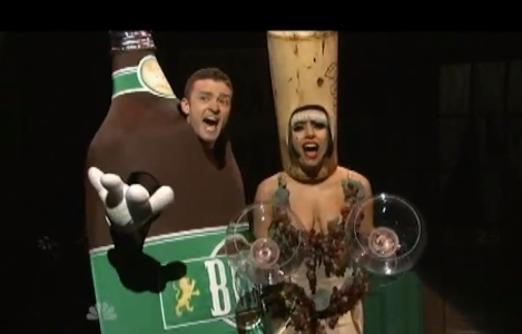 SNL: Justin Timberlake and Lady Gaga Rock 'Liquorville' – VIDEO