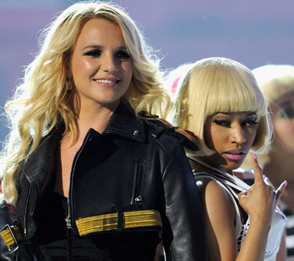 Britney Spears and Nicki MInaj - 2011 Billboard Music Awards