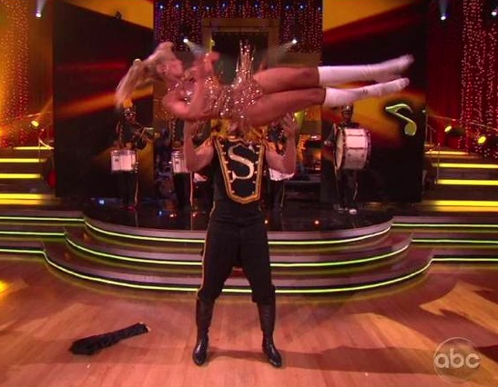 Hines Ward and Kym Johnson - DWTS Finale