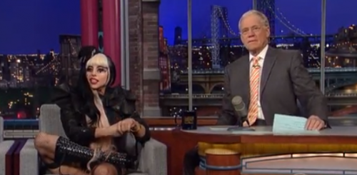 Here's A First! Lady Gaga Chats With David Letterman – FULL Interview – VIDEO