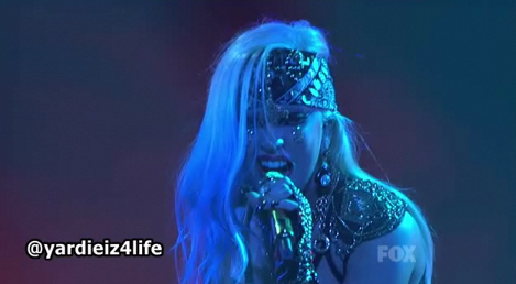 Lady Gaga American Idol Finale - Edge of Glory