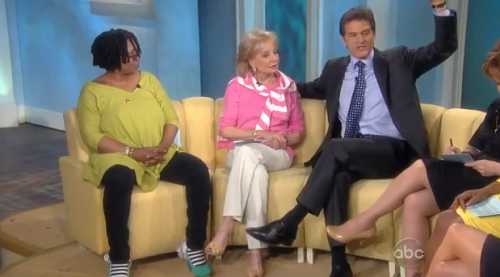 Whoopi Goldberg Farts on The View &#8211; VIDEO