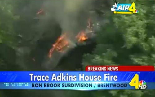 Trace Adkins Loses Home To Devastating Fire -DETAILS