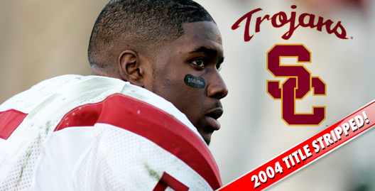 Reggie Bush - USC Stripped