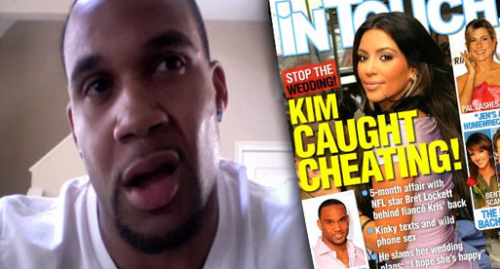 Bret Lockett Taking Down Kim Kardashian With Intimate Photos, Text Messages and MORE!