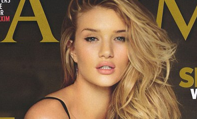 Rosie Huntington-Whiteley - MAXIM JULY 2011