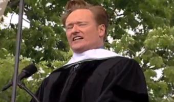 FUNNY: Conan O'Brien's Dartmouth Commencement Address – Video