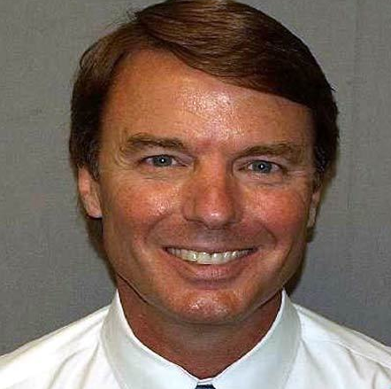 John Edwards Mugshot Photo