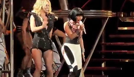 VIDEO: Britney Spears & Nicki Minaj Duet 'Till The World Ends' at Staples Center