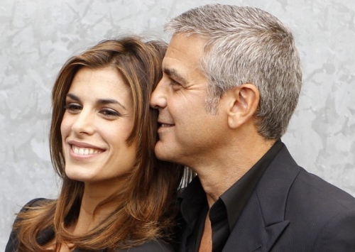 CONFIRMED: George Clooney and Elisabetta Canalis SPLIT